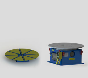 Horizontal turntable